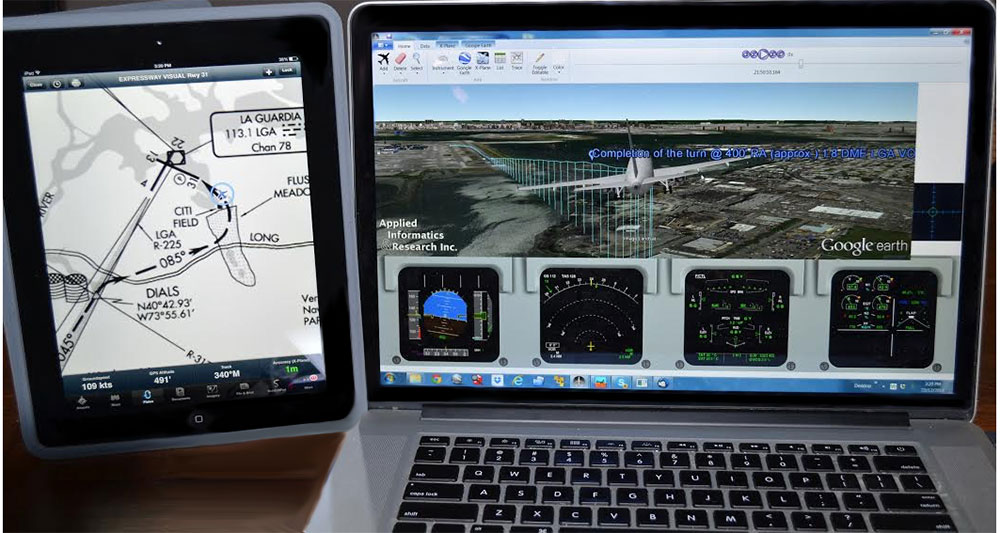 Flight Animation System (FASET) | Applied Informatics and Research Inc