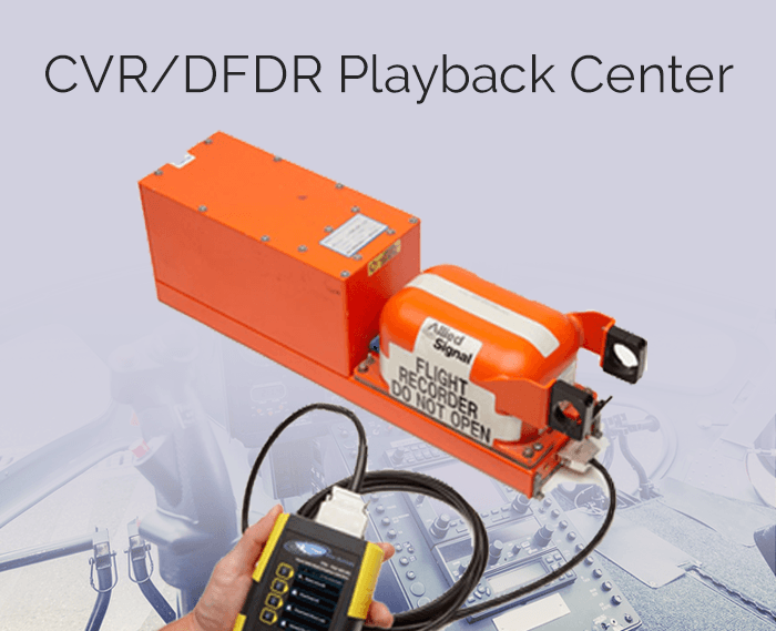 CVR/DFDR Playback Center